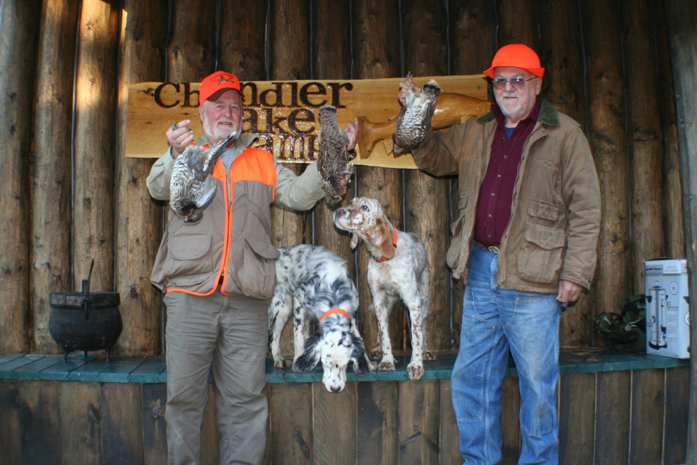 Maine Grouse Hunting