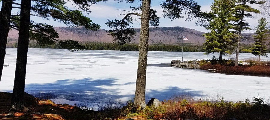 2018 Maine Ice Out Fishing